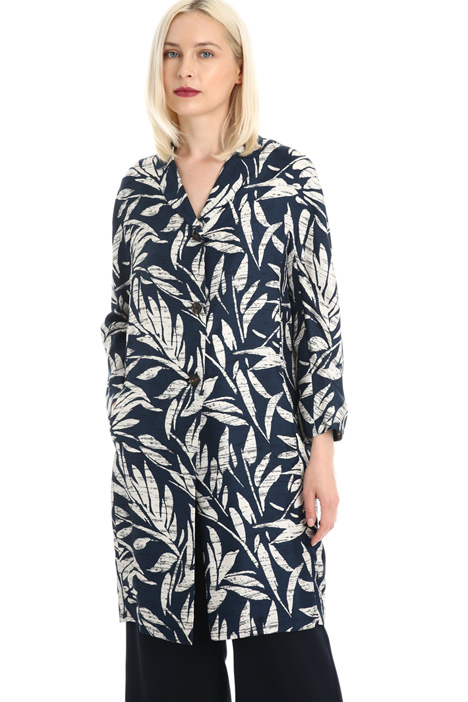 Pure twill silk tunic Intrend