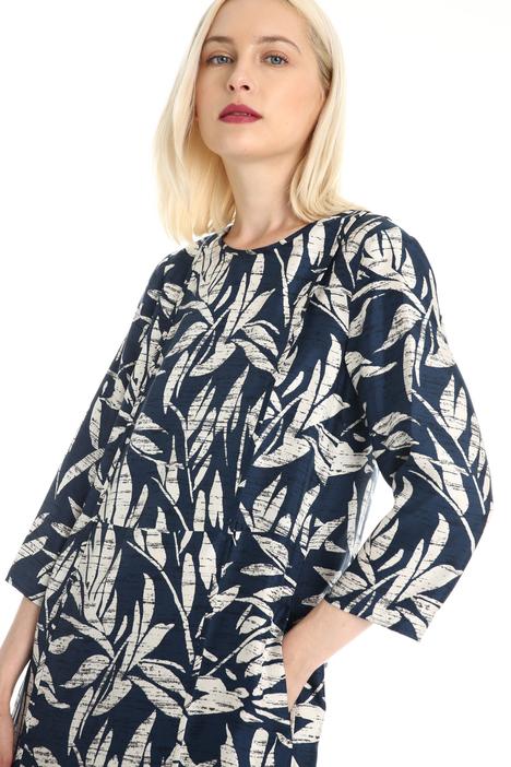 Fluid silk twill dress Intrend