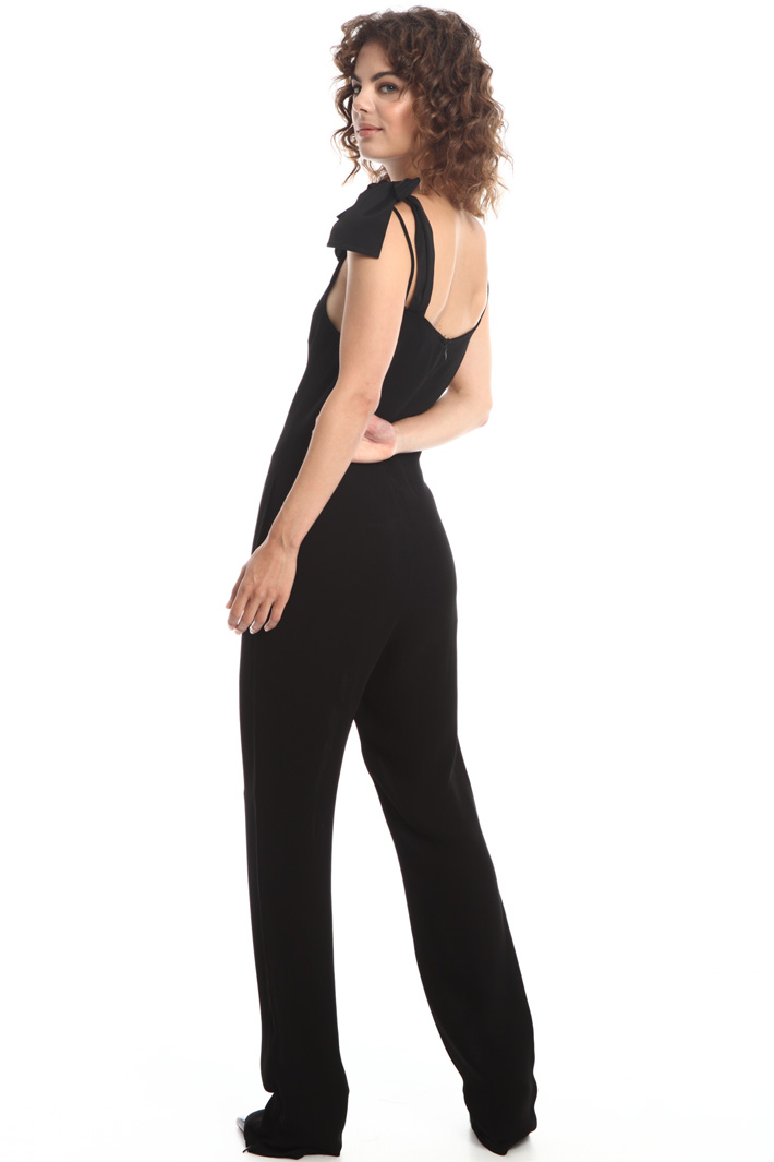 Bow-detail jumpsuit  Intrend