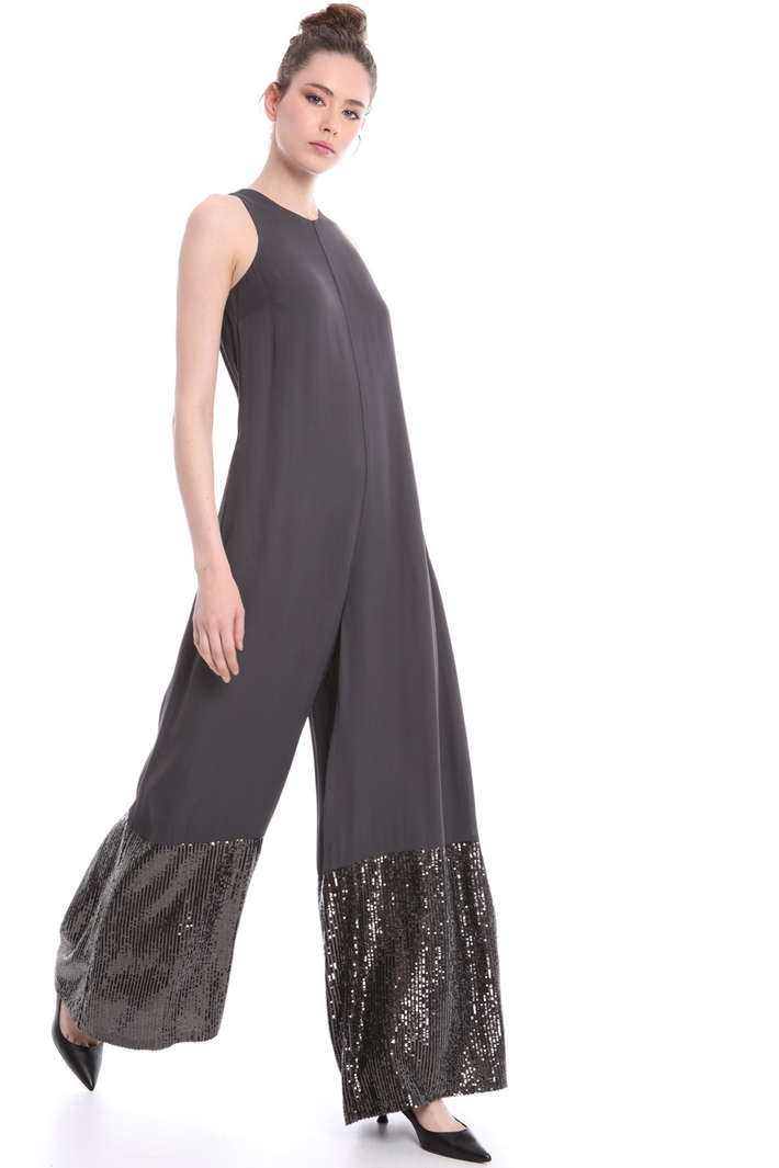 Jumpsuit with sequin bottom  Intrend