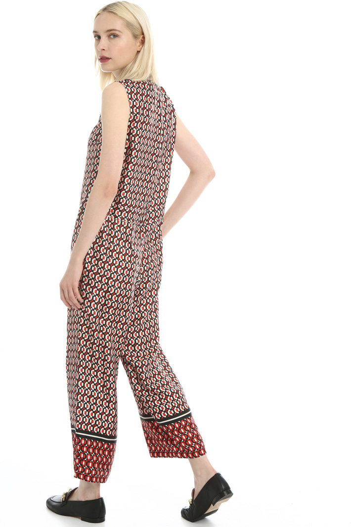 Silk crepe de chine jumpsuit Intrend