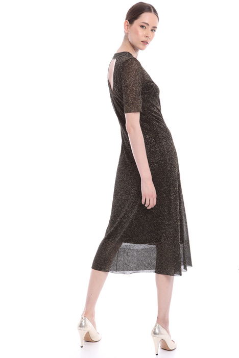 Back cut-out dress Intrend