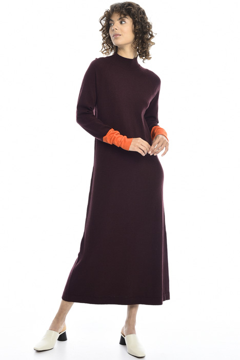 Long knitted dress Intrend