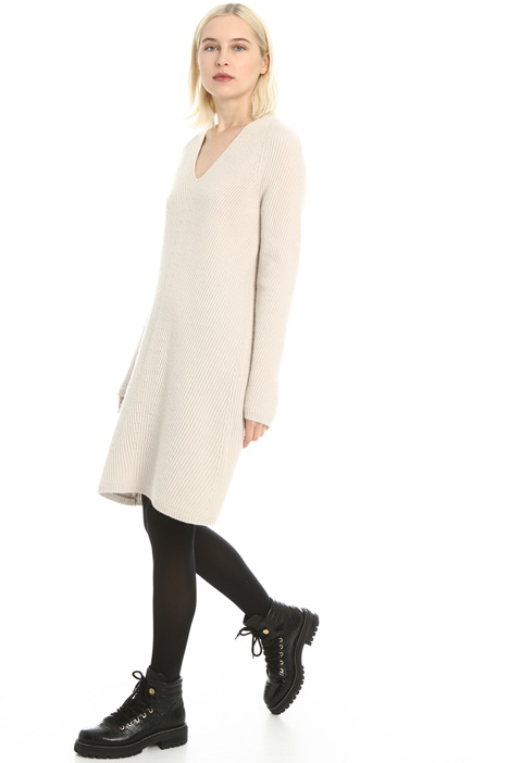 Wool and cashmere dress Intrend