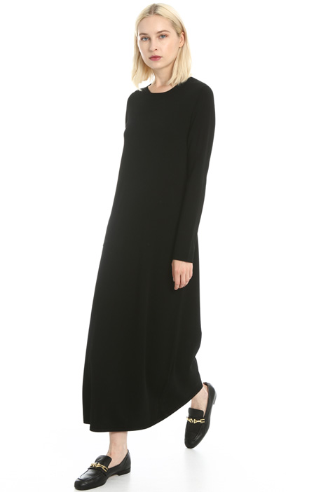 Viscose yarn dress Intrend