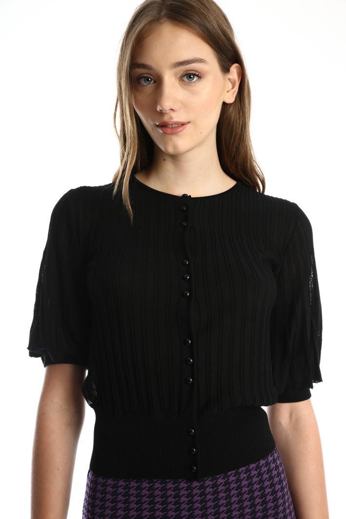 Short sleeved cardigan  Intrend