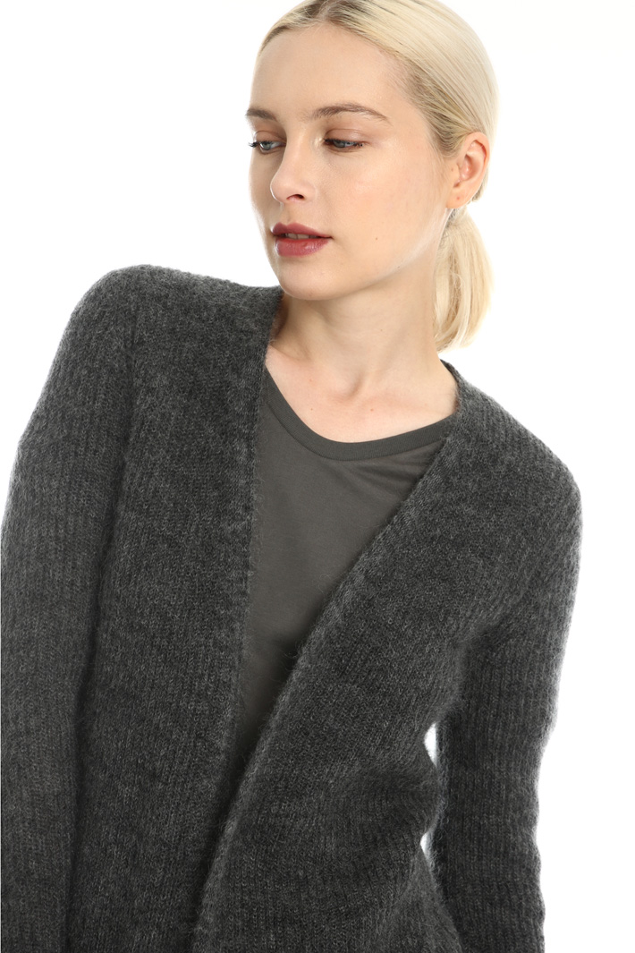 Mohair yarn cardigan Intrend