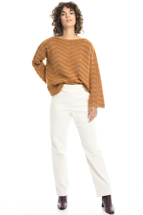 Chevron sweater in mohair Intrend