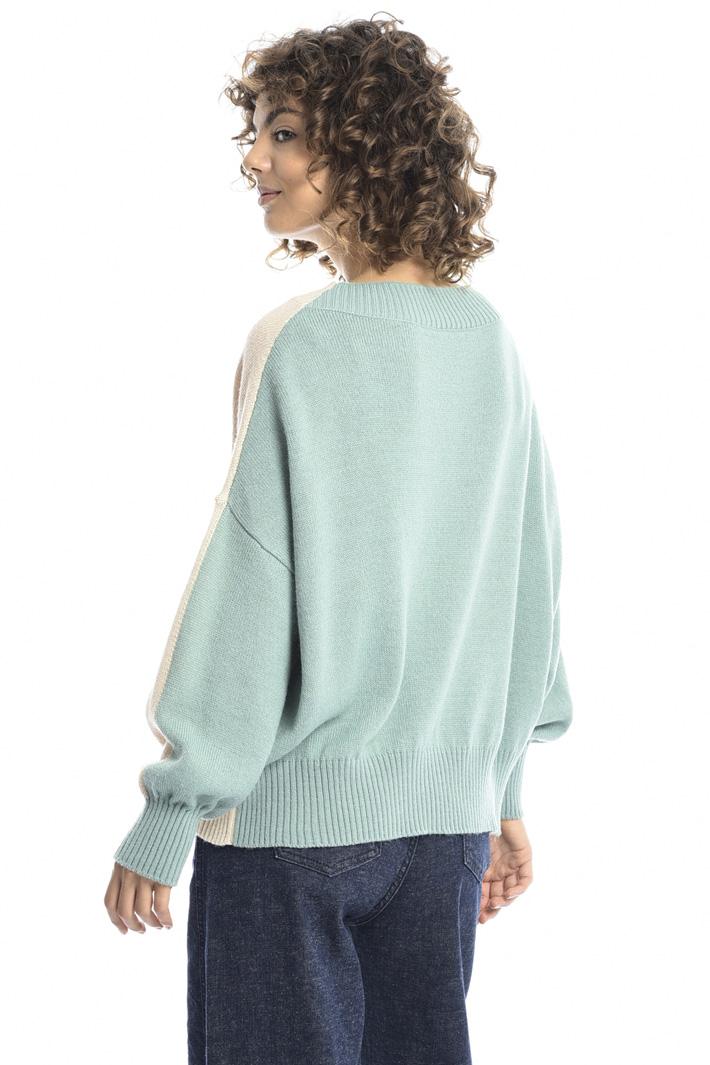 Oversized alpaca sweater Intrend