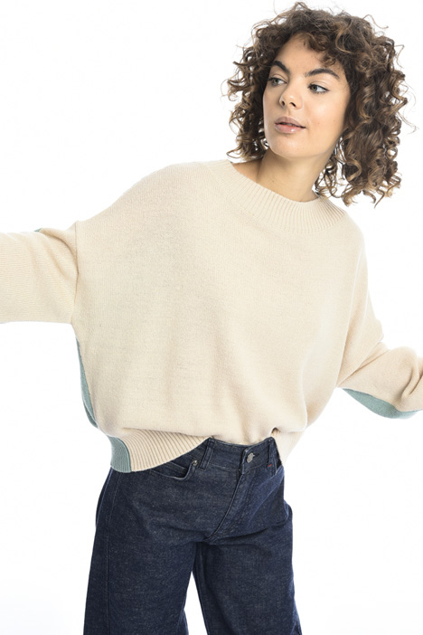 Oversized alpaca sweater Intrend