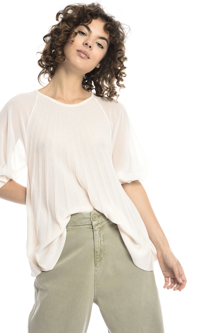 Sunray sheer top  Intrend
