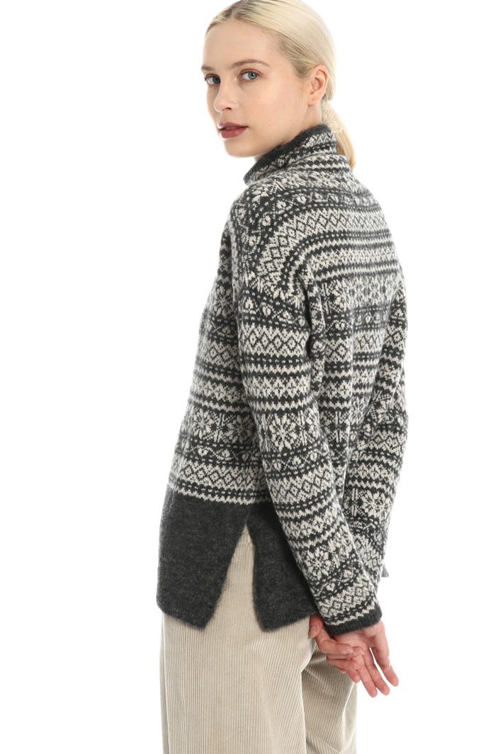 Wool jacquard sweater Intrend
