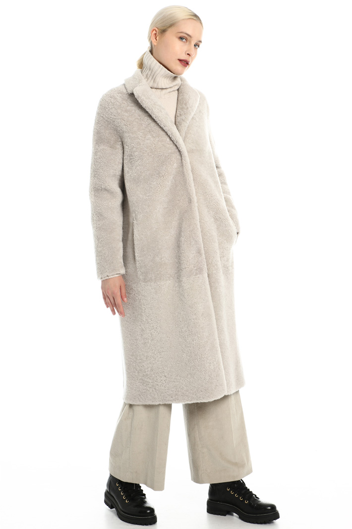 Sheepskin coat Intrend