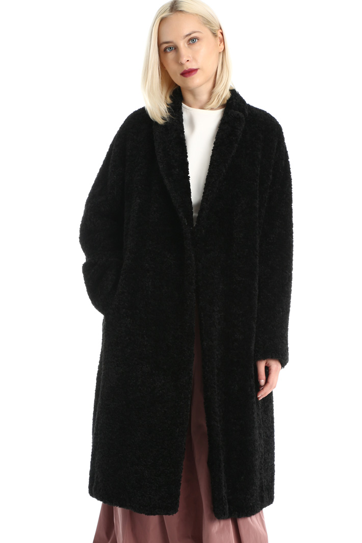 Plush coat Intrend