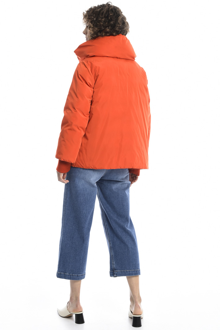 Maxi-neck padded jacket Intrend