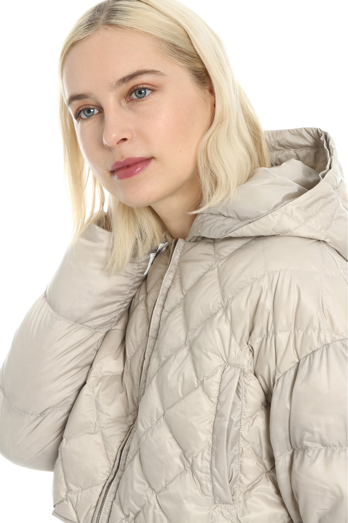 Hooded down jacket Intrend