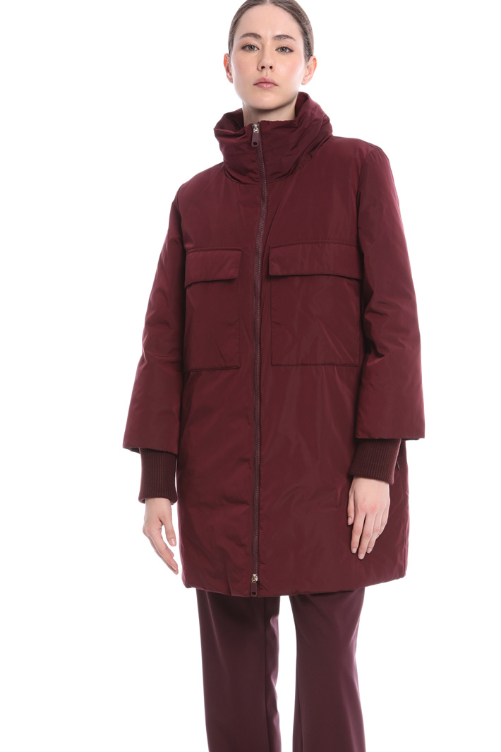 Taffeta padded coat Intrend