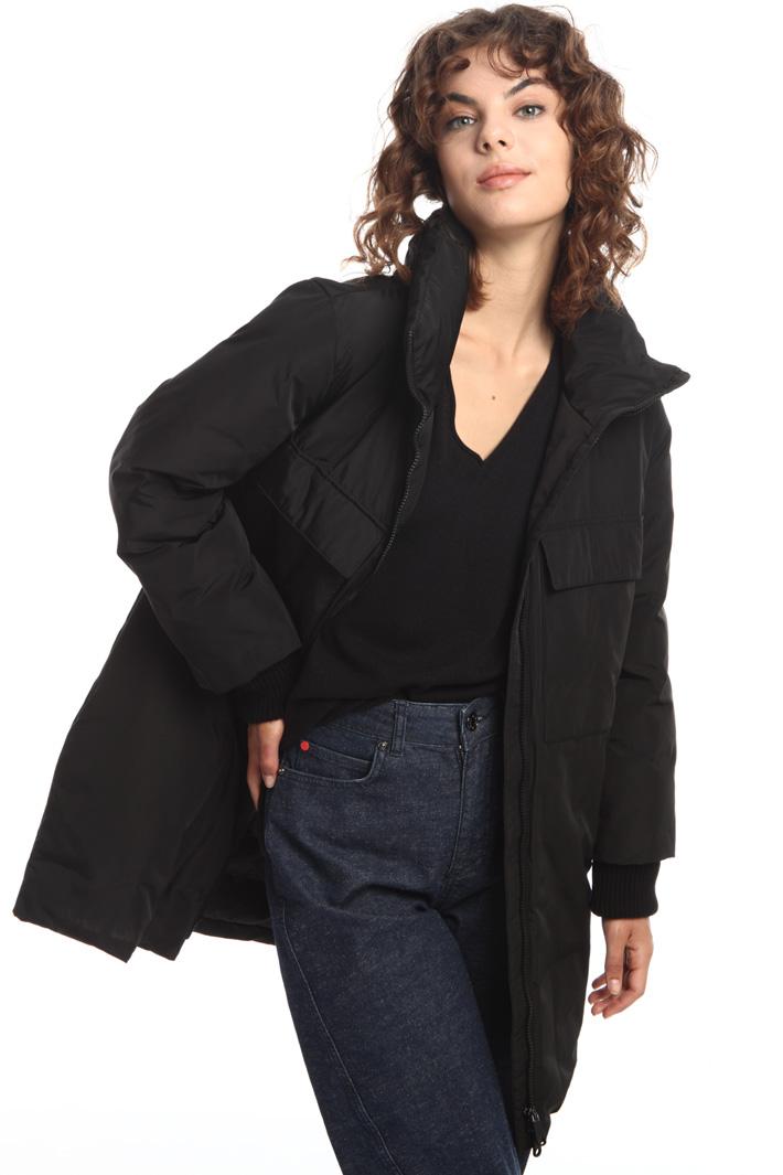 Taffeta padded coat Intrend