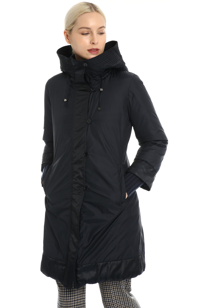 Reversible slim fit down coat Intrend