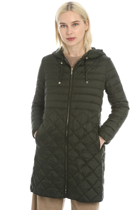Quilted down coat Intrend