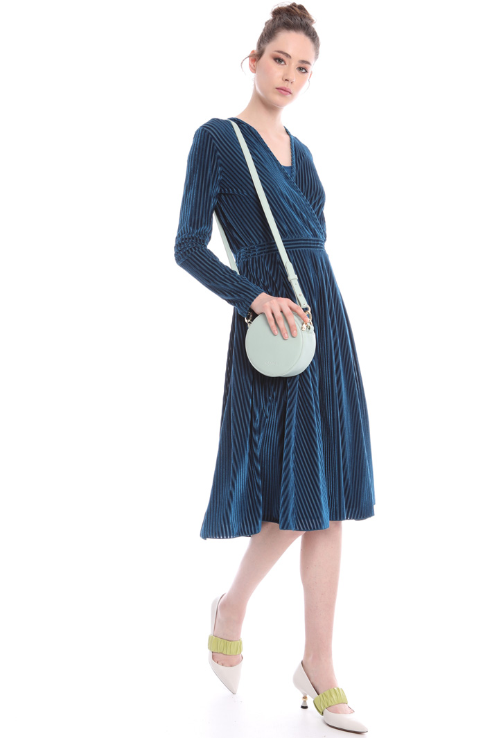 Princess line velvet dress Intrend