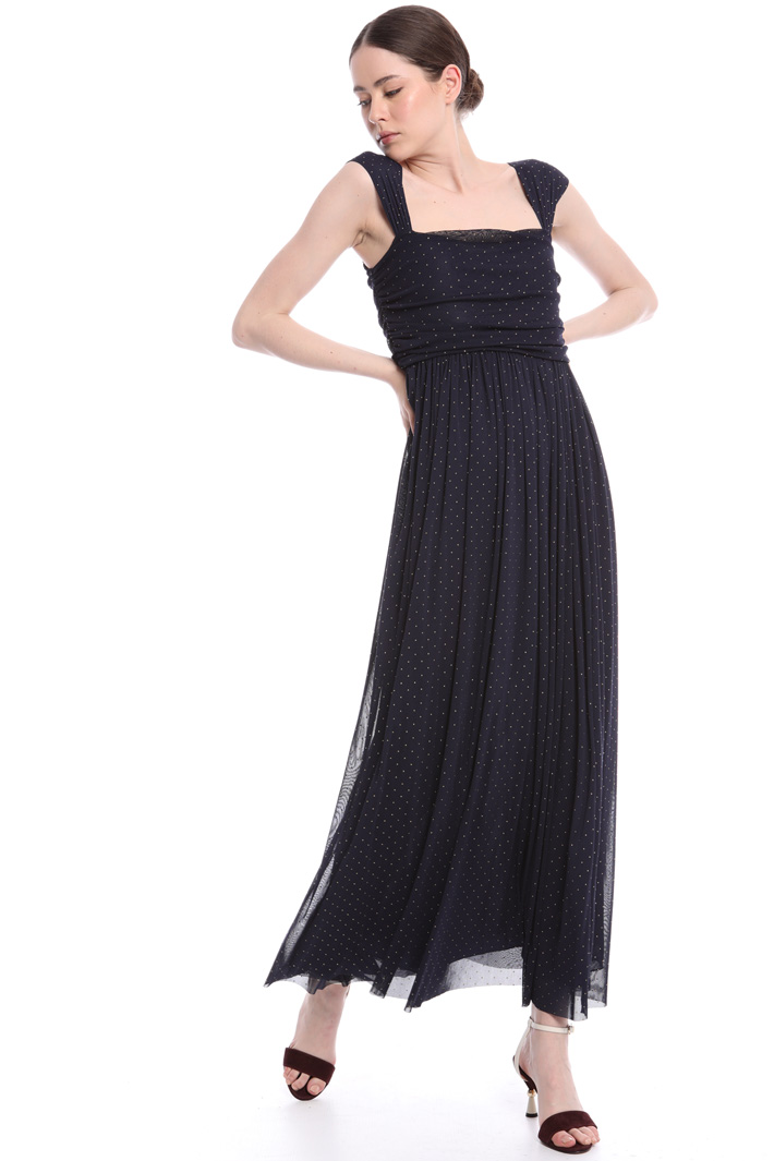 Floaty tulle maxi-dress  Intrend