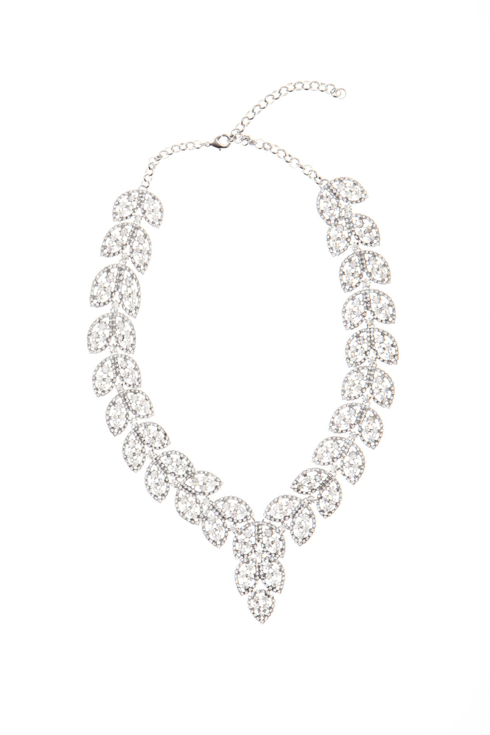 Rhinestone necklace Intrend