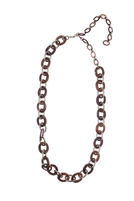 Resin chain necklace Intrend