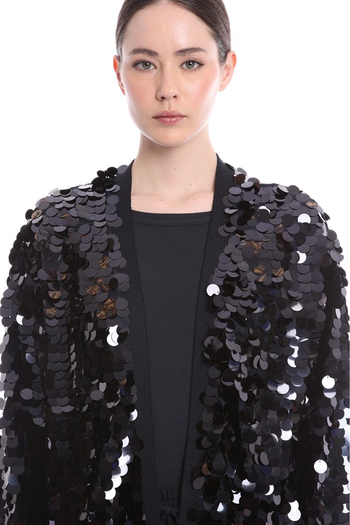 Sequin cardigan   Intrend