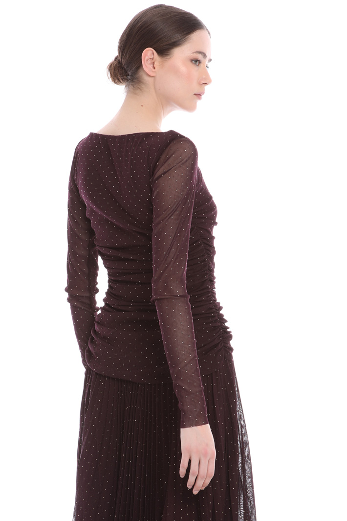 Stretchy tulle top  Intrend
