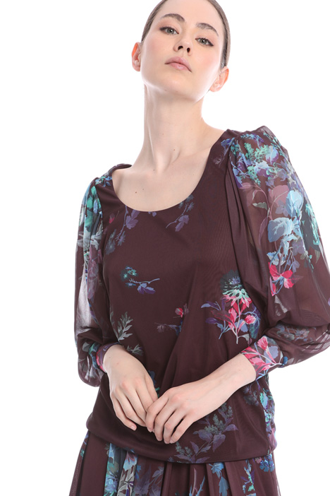 Crepe jersey blouse  Intrend