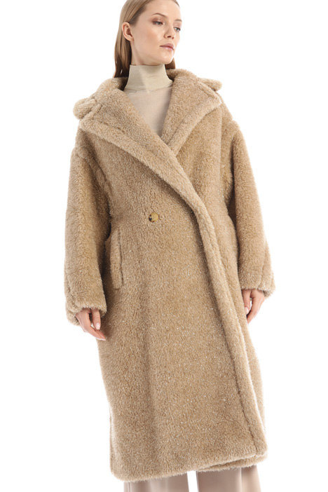 Teddybear camel coat Intrend