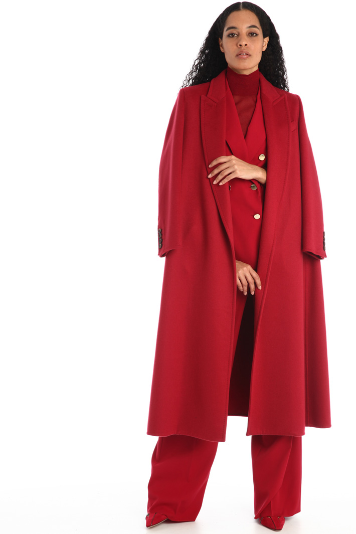 Long cashmere coat Intrend