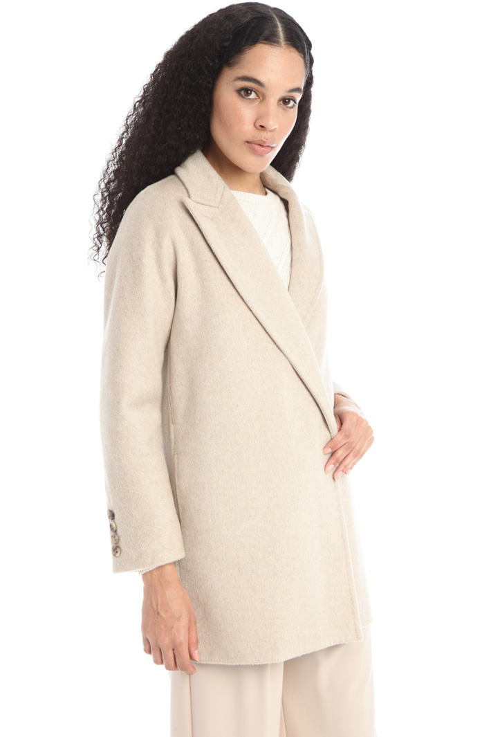 Cashmere drap coat Intrend