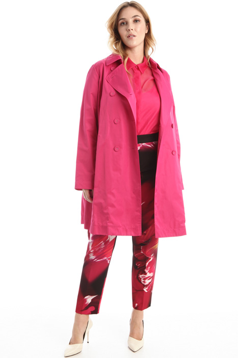 Satin raincoat Intrend