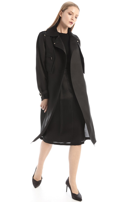 Silk trench coat Intrend