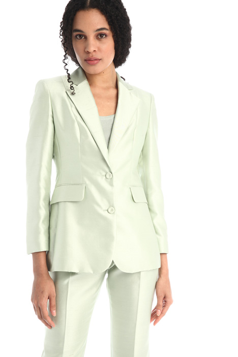 Silk and cotton blazer Intrend
