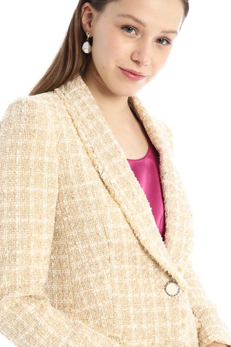 Blazer in tweed Intrend