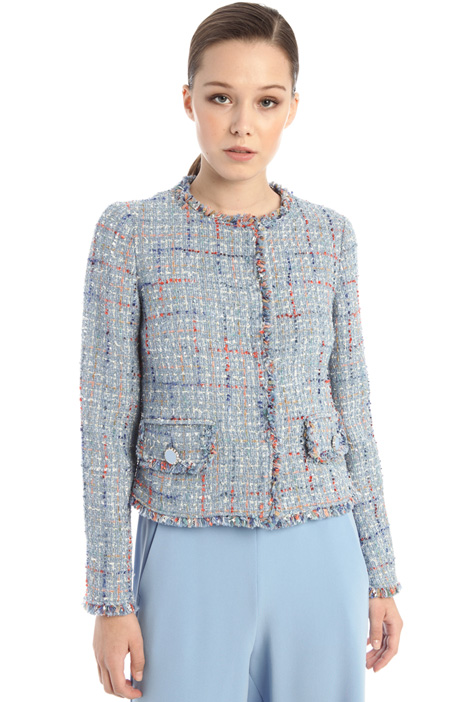 Sequinned tweed jacket Intrend