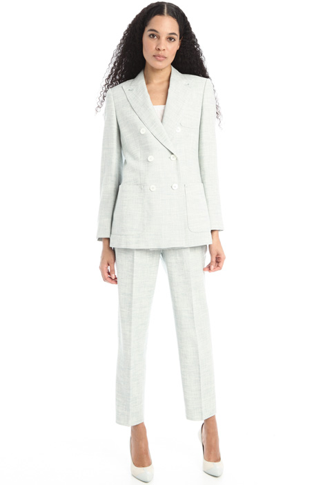 Silk and linen jacket Intrend