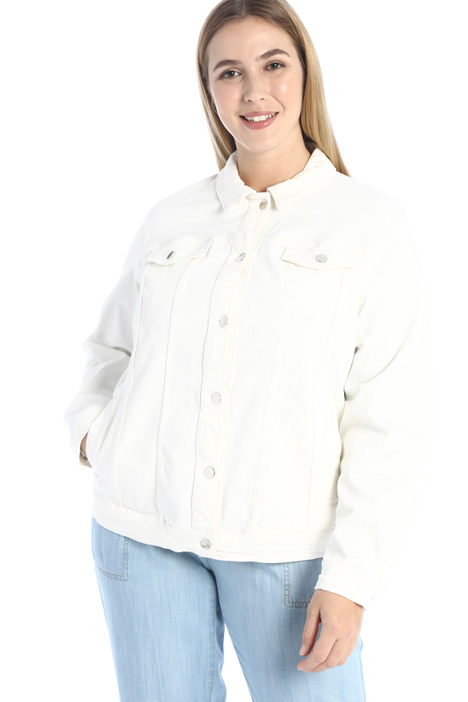 Stretch cotton jacket Intrend