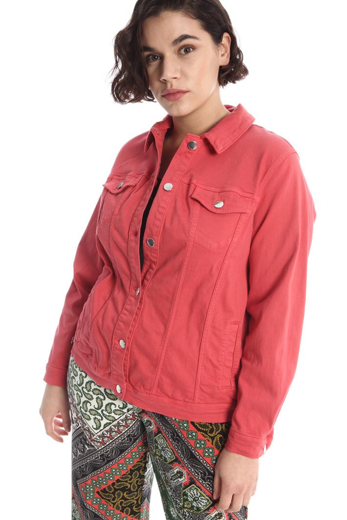 Stretch cotton jacket Intrend