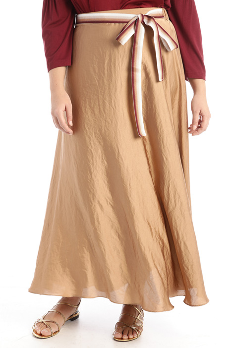 Long satin skirt Intrend