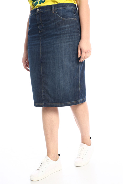 Lightweight denim skirt Intrend