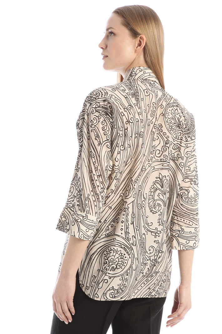 Cotton and silk shirt Intrend