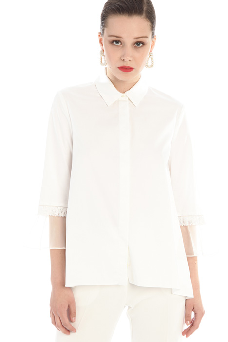 Beaded-embellished shirt Intrend