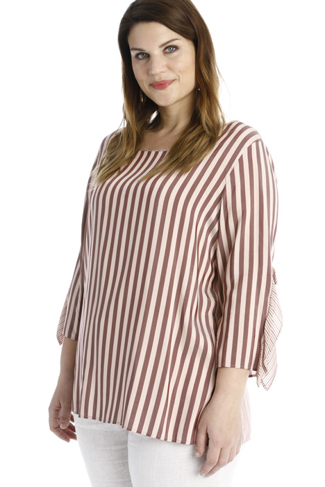 Yarn dyed viscose blouse Intrend
