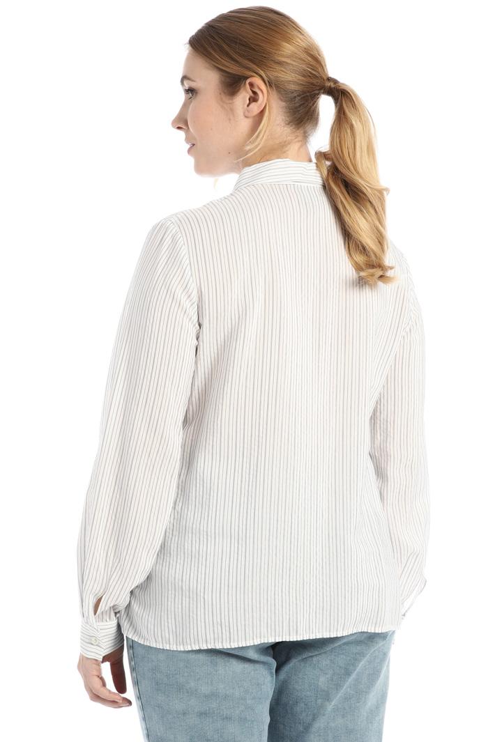 Yarn dyed viscose shirt Intrend