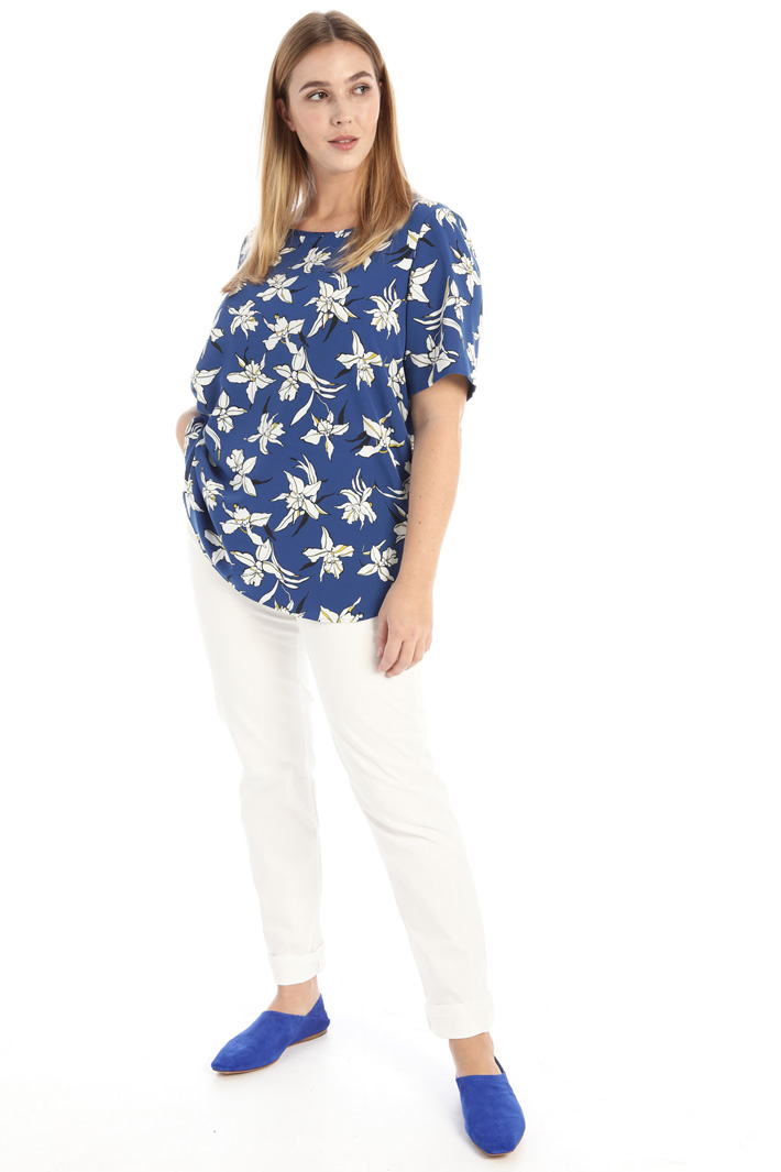 Stretch cady blouse Intrend