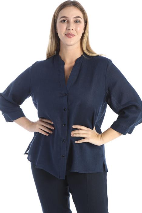 Yarn dyed linen shirt Intrend